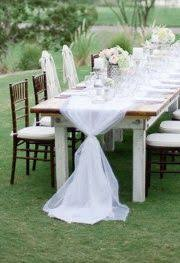 how to use tulle to decorate a table soft romantic garden wedding ideas garden weddings romantic and