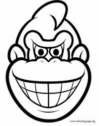 printable donkey kong free coloring pages art coloring pages