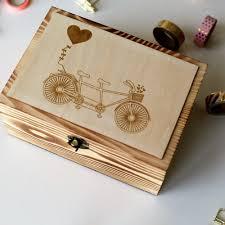 personalized wooden keepsake box aliexpress buy alternative wedding guest book custom