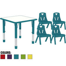 activity table and chairs 2xhome kids table and chairs set height adjustable rectangle