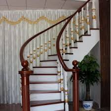 Circular Stairs Design China Wood Steps Design Residential Wooden Spiral Stairs Gsp16