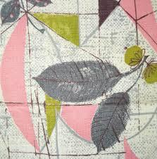 Mid Century Modern Fabric Reproductions 1950s Vintage Barkcloth Fabric Western Cowboy Vintage Fabric