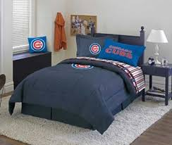 Chicago Cubs Crib Bedding Chicago Cubs Bed Sheets Bedding Linens Comforter Drapes Valance