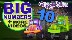 bigfoot presents meteor and the mighty monster trucks monster trucks learn to count more episodes 1 hour long