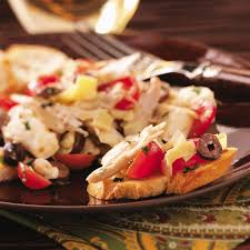 thanksgiving day appetizers recipes chicken salad caprese recipe taste of home