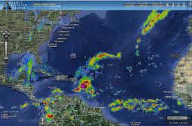 Caribbean Ocean Map by Pdc Weather Wall Tropical Cyclone Activity Report U0026 8211