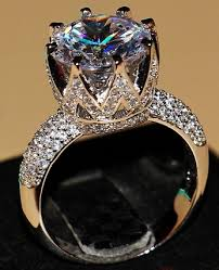 large diamonds rings images 9 stunning big size diamond rings for men and women jpg