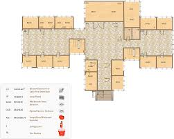 Cafeteria Floor Plan by Café Floor Plan Design Software Professional Building Drawing
