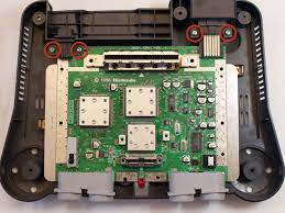 nintendo 64 motherboard replacement ifixit