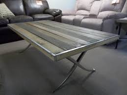 Aluminum Coffee Tables Coffee Table I Am Saved Brushed Aluminum Styled Coffee Table