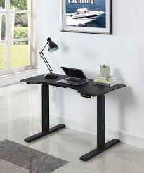 Motorized Sit Stand Desk Simply Organized Motorized Adjustable Height Sit Stand Desk