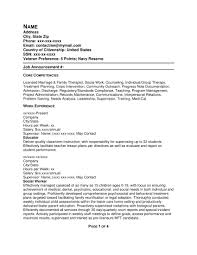 Core Competencies Examples For Resume by 100 Sample Resume For Marriage Biography Resume Format