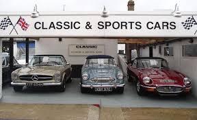 Barnes Cars Ltd Classic Chrome Sports U0026 Classic Car Dealers In London