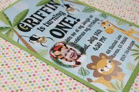 Jungle Theme Invitation Card Safari Themed Birthday Party Food Ideas Birthday Ideas Safari