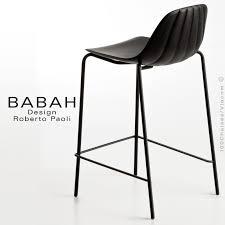 tabouret de cuisine design tabouret de cuisine design babah 65 pieds acier peint assise coque