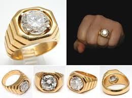 mens gold diamond rings mens diamond rings mens gold diamond rings vintage 4 38ct