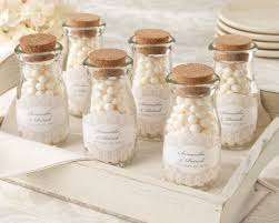 vintage wedding favors vintage personalized milk favor jar set of 12