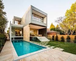 Glass Wall House Box House Zouk Architects Archdaily