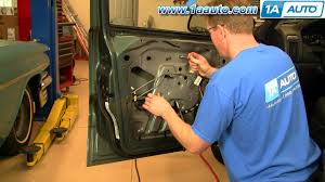 how to install replace window regulator jeep grand cherokee 99 04