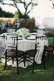 white wedding chairs black chivari chairs elizabeth designs the wedding