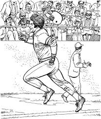 20 baseball coloring pages images coloring