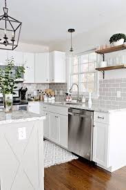 why are my cabinets pulling away from the wall faux utility style kitchen cabinet pull satin nickel 3 ctr lq p26814c sn c