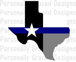 Texas State Flag Svg Dxf Eps Cut File Texas State Flag Thin Blue Line Svg