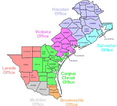 houston map districts u s probation office southern district of