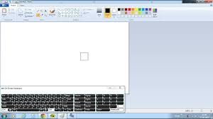 how do i make the eraser larger on windows 7 ms paint