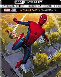 spider man homecoming 4k blu ray steelbook best buy exclusive