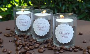 candle wedding favors coffee bean candle wedding favors weddings ideas from evermine