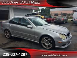 ft myers mercedes 2005 mercedes c55 amg ft myers fl for sale in fort myers fl