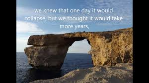 the azure window of dwejra how it was before the collapse and