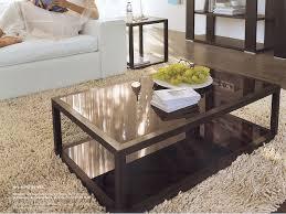black brown coffee table black wood coffee table mherger furniture