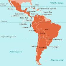 south america map with country names and capitals a total list of american nations with their capitals all