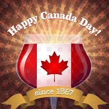 glass with canadian flag vector image 60598 u2013 rfclipart