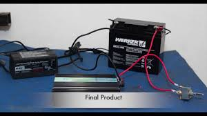portable battery power for studio lights