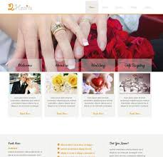 Marriage Invitation Websites 30 Wedding Html5 Website Templates