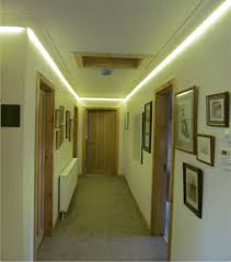 concealed led tape colour changing coving lighting