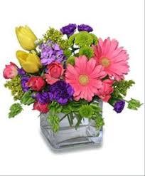 Cube Vase Centerpieces by Original Flower Centerpieces Original Flower Arrangement Original