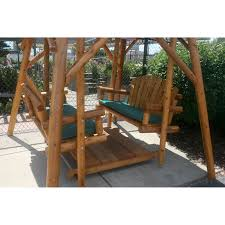 Glider Swings With Canopy by Have To Have It Adirondack Double Glider Swing And Frame Canopy