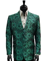 martini green blu martini mens green navy floral dress casual fun trending