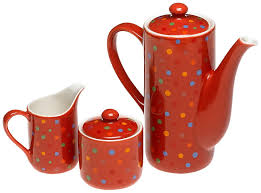 Crate And Barrel Tea Pot by Kitchen Decor Decorating With A Polka Dot Theme 100 Or Less