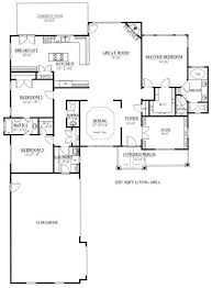 Craftsman House Floor Plans 15 Best House Plans Images On Pinterest Country House Plans