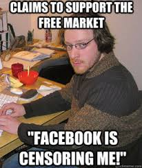 Libertarian Meme - libertarian realizes his ideas make no sense glossynews com