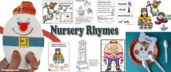 nursery rhymes activities crafts lessons and printables kidssoup