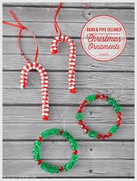diy bead pipe cleaner ornaments barone
