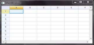 wpf support u2013 reogrid u2013 net spreadsheet component