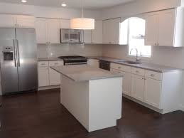 Gray Cabinets With White Countertops Kitchen Pretty White Kitchen Cabinets With Grey Countertops
