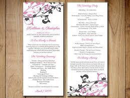 Diy Wedding Program Fans Template Best 20 Diy Wedding Program Template Ideas On Pinterestwedding